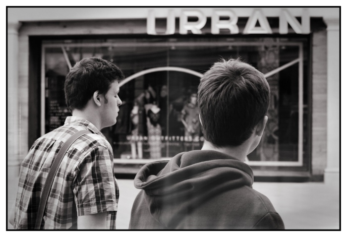 Urban Boys (Bath, UK) in B&W