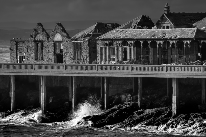 Birnbeck Pier, Weston-super-Mare, UK [Ex-hurricane Bertha, 10 August 2014]