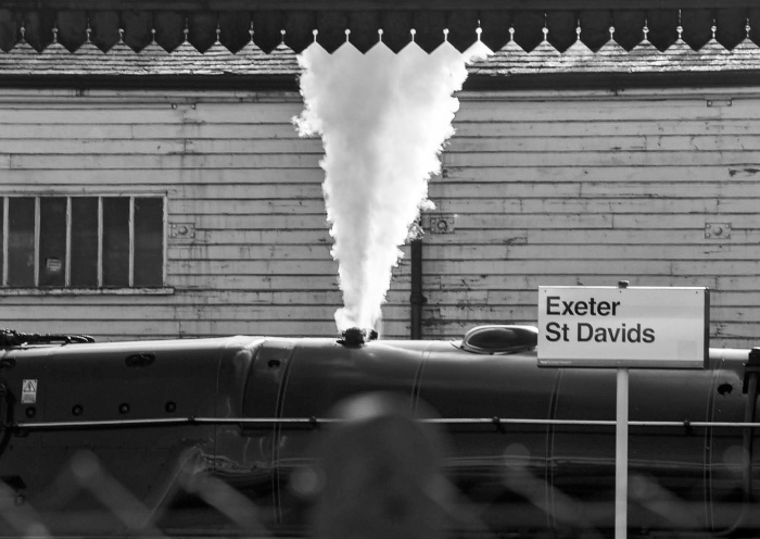 Arriving by Steam (with Duke of Gloucester)